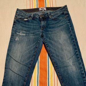 "Paige ""Skyline Ankle Peg"" Jeans"